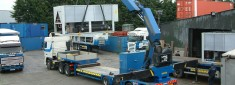 truck and crane
